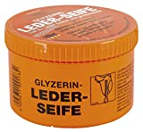 GLYZERIN-LEDERSEIFE, Dose mit Schwamm, 250ml