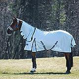 HORZE Freja Fliegendecke für Pferde mit Halsteil, UV-Schutz, Pferdedecke mit Schutzfunktion, UV...