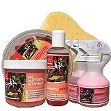 EMMA® Mähnenspray für Pferde I Pferdeshampoo I Glitzerspray Pferde I Glitzer Huffett I...