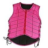 Baoblaze Kinder/Damen/Herren Reitschutzweste, atmungsaktive Sicherheitsweste für Reiten Kleidung -...