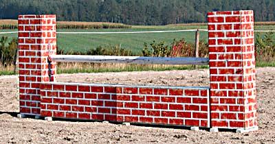 Eine Mauer - (Foto: Franziska Goldmann)