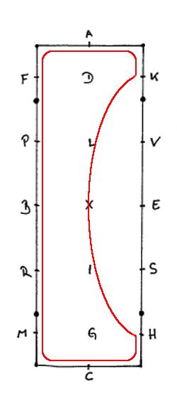 Die Einfache Schlangenlinie im 60er Viereck