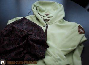 Die Fleece-Jacke mit Loop von Sonnenreiter - (Foto: Martin Goldmann)