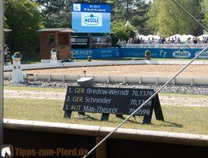 Platzierungen Grand Prix Spezial - (Foto: Franziska Goldmann)